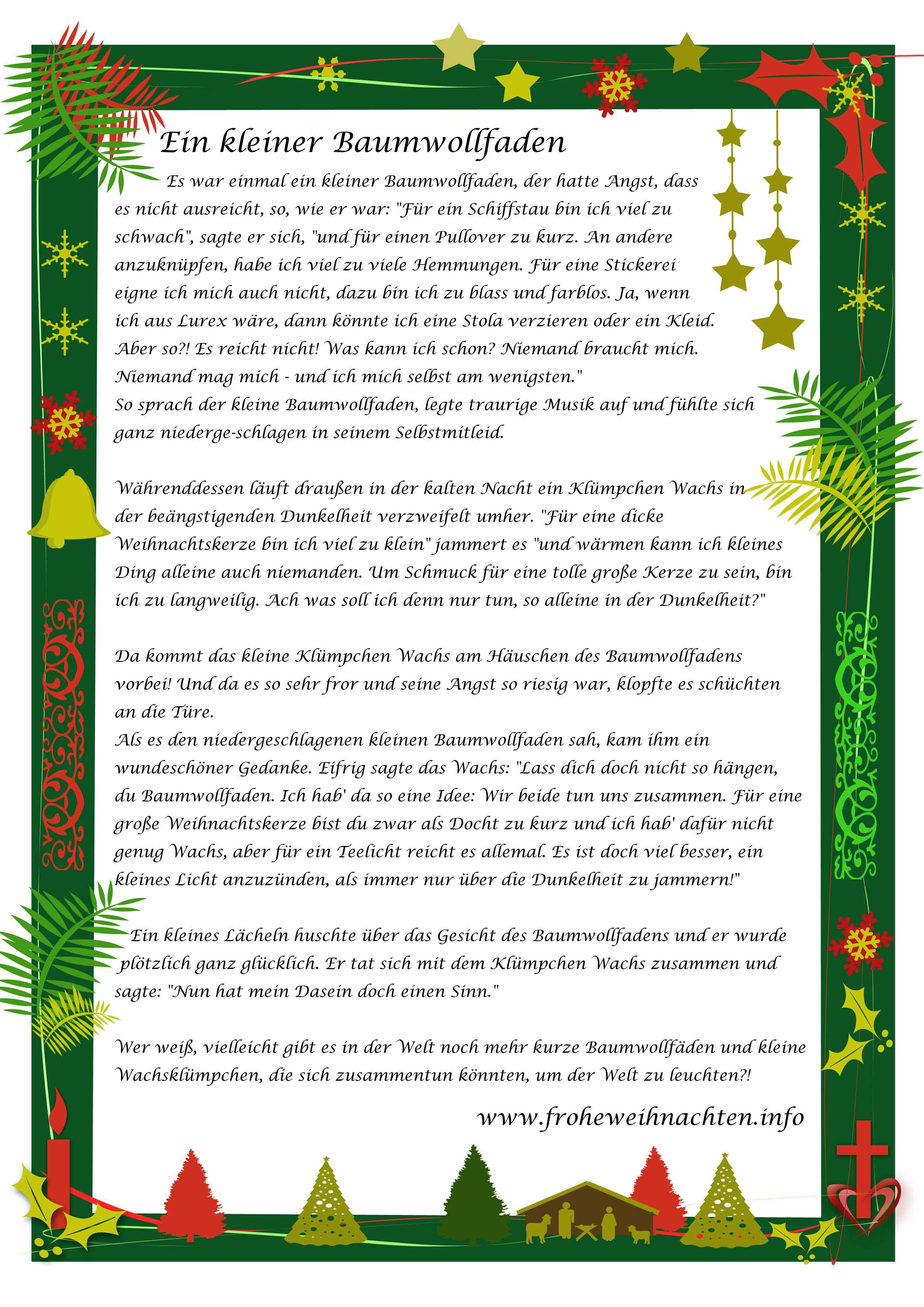 Weihnachtsgeschichten zum Vorlesen - für Kinder
